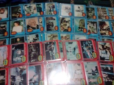 Topps 1977 Vintage 342 Cards 5 Complete Sets Ultimate Star Wars Card Collection