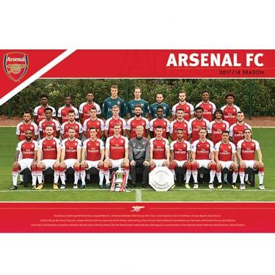 Official Arsenal F.C. Poster Squad 35 Xmas Football Gift