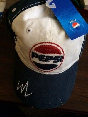 Blue and White Pepsi Cola Base Ball hat, still has hange tag on it