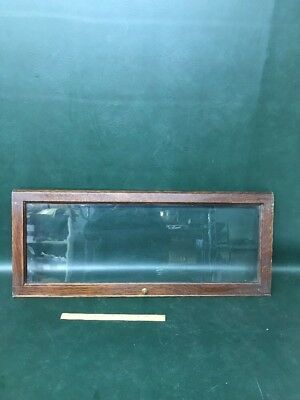 "Antique Oak Original Gunn  Stacking Bookcase Barrister Door 32.5""x 13.5"""