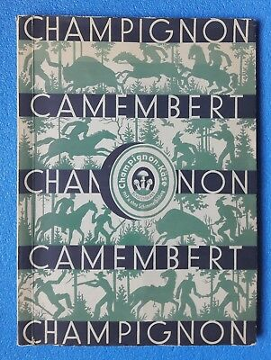 Champignon - Camembert  und  Karl  May  Serienbilder