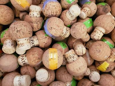 100 (Patron Tequila 750 ML Corks) Straight from the Bottle- Great for Crafts