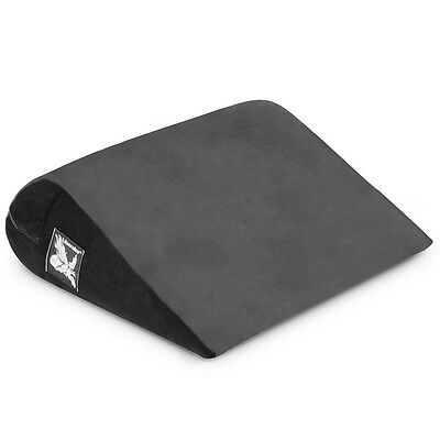 Liberator Jaz Microfiber Cushion Foam Pillow Position AID Pillow Wedge Charcoal
