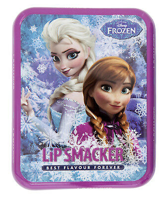 Frozen Lip Smacker 6x original Lip balm (100g=€41,63), in Frozen-Geschenkdose