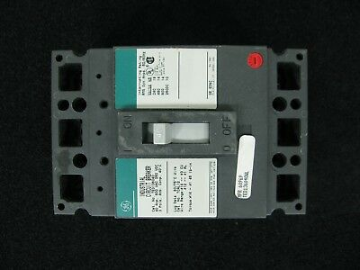 GE 40 Amp 600 VAC 250 VDC 3 Pole TED136040WL Circuit Breaker New in Box