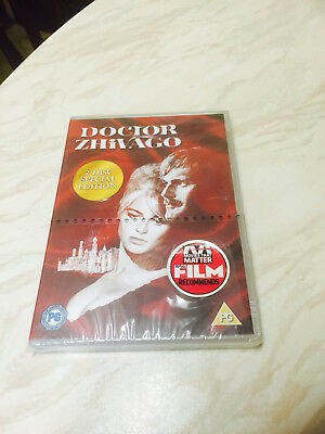 Doctor Zhivago (DVD 2001) Omar Sharif - 2-Disc Special Edition Brand New Sealed