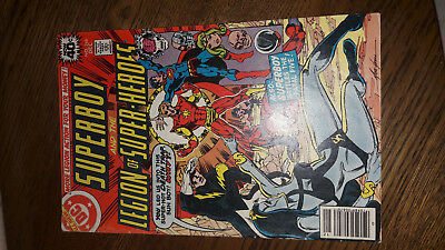 US Superboy and the Legion of Super- Heroes 246 (Zustand VG+) Fatal Five