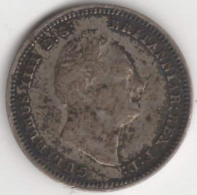 1834 William IV Silver Threepence***Collectors***