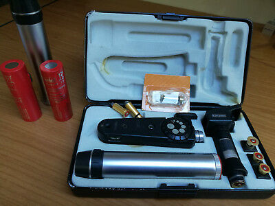 Keeler Specialist Ophthalmoscope and Spot Retinoscope Set including Charger