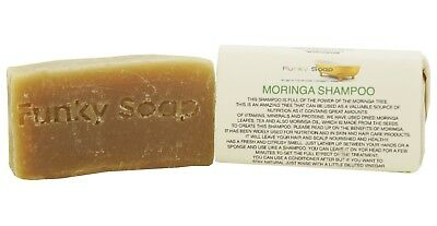 1 piece Moringa Shampoo Bar, 65g, 100% Natural Handmade
