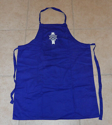 Le Cordon Bleu - blue CHEF apron - NEW