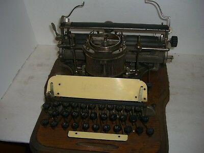 Very Rare Hammond Typewriter To Restore Or For Parts
