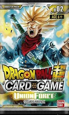 Dragonball Super Card Game: Union Force B02 Bandai Brand New BCLDBBO7351