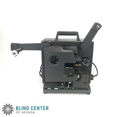 Bell Howell 2585 16mm Film o Sound Projector  Almost works