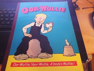 OOR WULLIE ANNUAL 1973 Good Condition