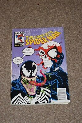 Marvel Comics The Complete SPIDER-MAN no 18  march  1992