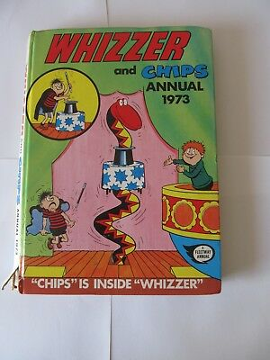Whizzer and Chips Album 1973 Good condition, minor spine damage