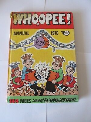Whoopee Annual 1976 Minor damage to cover, excellent internals