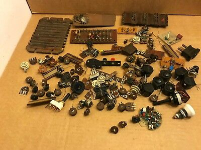 Collection of Vintage Possibly Television / Radio Electronic Parts