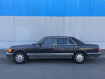 1986 Mercedes-Benz 400-Series  1986 Mercedes Benz 420SEL