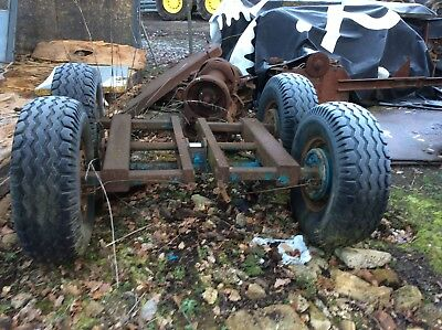 Warrick, trailer tandem axel. 10ton