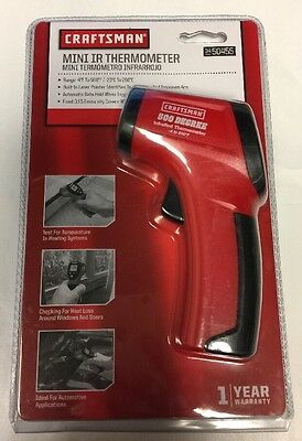 Craftsman Handheld Mini IR Themometer 3450455  NEW FREE SHIPPING