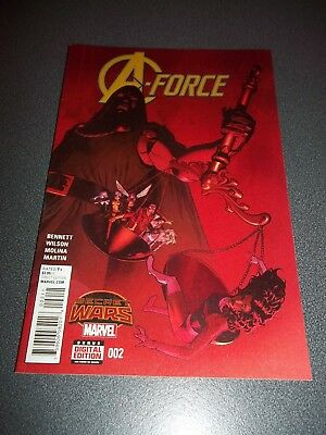 A-Force #2, 2015, She-Hulk, Dazzler, Spider-Woman, See Others & Combine Postage