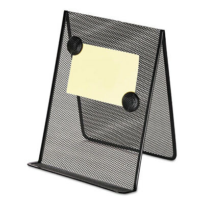 Universal Metal Mesh Document Holder, 9 x 8 5/8 x 11 3/8, Free Standing, Black