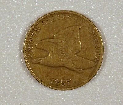 1857 - Flying Eagle Cent