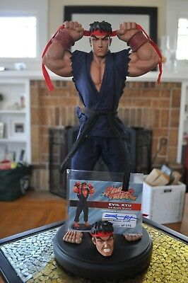 Pop Culture Shock OG Street Fighter Evil Ryu 1/4 Scale Statue - 34 of 175 low ES