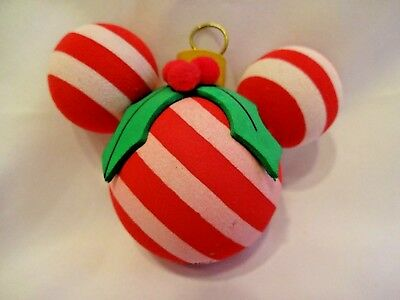 Disneyland Antenna Topper Christmas Candy Cane Disney Holly