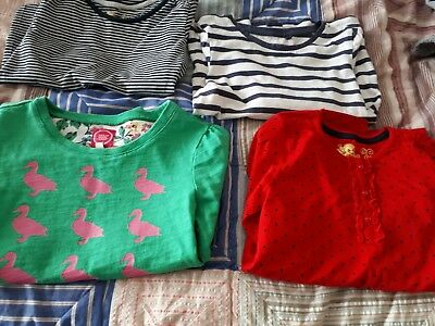 lovely girls bundle long sleeved tops 8-9 years Joules/ next