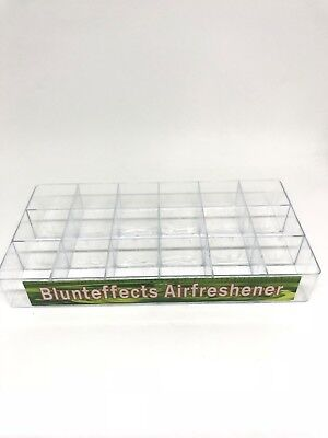 Blunteffects 18 CT DISPLAY TRAY - DISPLAY ONLY - USA SELLER!