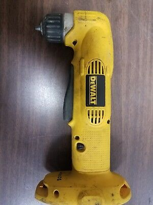 "DEWALT DW960 18V NICD 3/8""CORDLESS RIGHT ANGLE DRILL No Reserve"