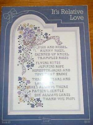 Stoney Creek Collection - Cross Stitch Pattern Book #20 - It's Relative Love