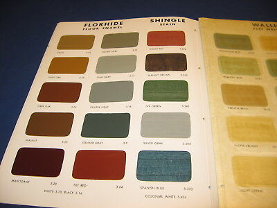 1946 Pittsburgh Paints Catalog from PPG Plate Glass Co Vtg Home Planning