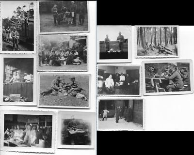 1541 German Ww2 / Wwii Lot Of 12 Original Photos
