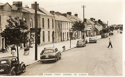 Strand Street Skerries Co Dublin Ireland Rp Cardall Postcard Posted 15-Aug-1967