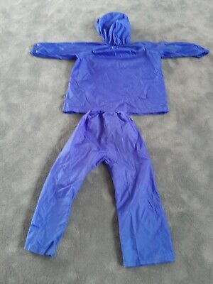 Kids water proof suit with hood. Rain play or snow suit.