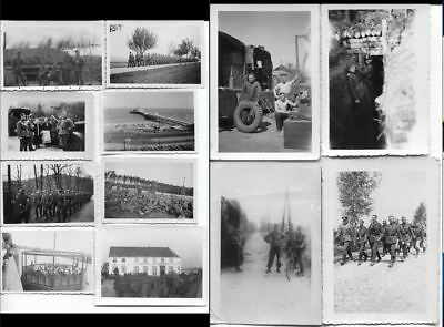 1543 German Ww2 / Wwii Lot Of 12 Original Photos
