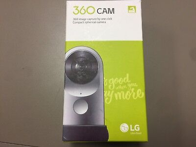 NEW LG 360 CAM R105 Compact 360 Camera 13MP 2K Wide Angle Video Android iOS