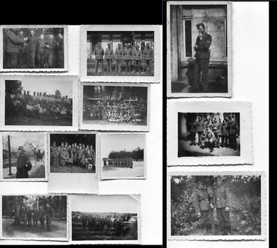 1544 German Ww2 / Wwii Lot Of 12 Original Photos