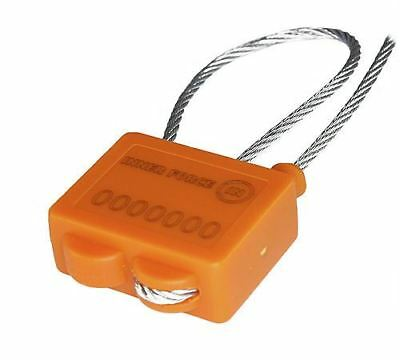20 x anti-tamper numbered twist Security Lock-Seal cargo container store machine