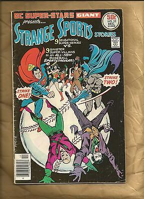 DC Super-Stars 10 nd vg+ 1976 Strange Sports Stories Batman Joker DC Comics