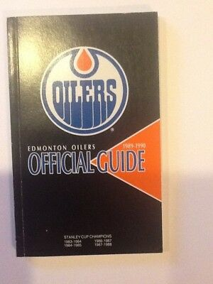 Edmonton Oilers 1989-90 Official Guide