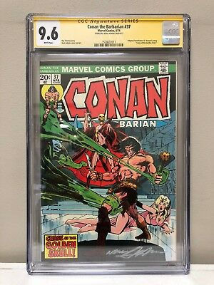 Conan The Barbarian #37 Cgc Ss 9.6 Nm! High Grade! Signed By Neal Adams!