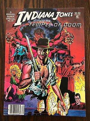 Marvel Super Special #30 (1977) Indiana Jones and the Temple of Doom (Free Ship)