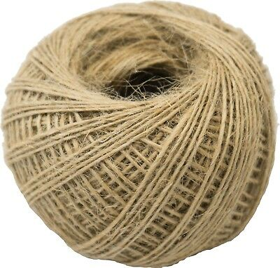 Wrapping String Gift Rope Jute Twine Craft Decoration 1mm Cord 50m