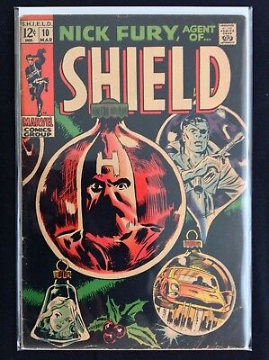 NICK FURY AGENT OF SHIELD #10 Lot of 1 Marvel Comic Book!