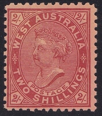 Western Australia - Sg134, 2/- Perf 11 Wm V/Crown - Mint Hinged.